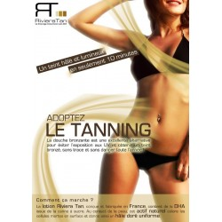 Affiche Adoptez le tanning