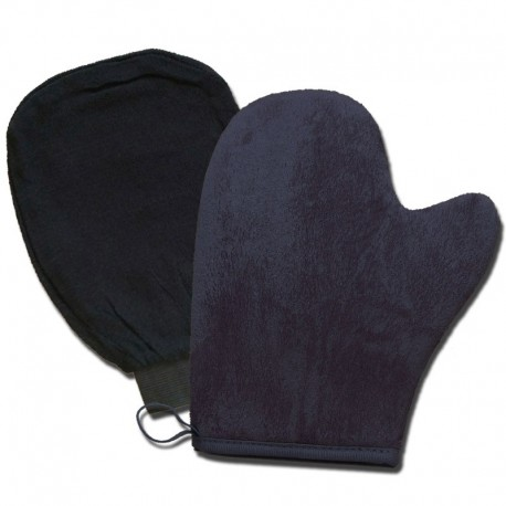 Gant exfoliant + gant autobronzant