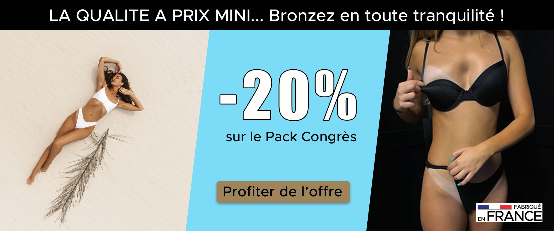 Pack tanning professionnel promo - vente flash
